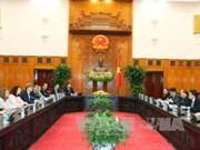 越南政府总理阮春福会见瑞典贸易大臣安·林德