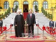 伊朗总统哈桑•鲁哈尼圆满结束对越的国事访问