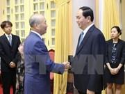 陈大光主席会见日本民间外交推进协会副会长中垣佳彦