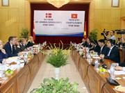 越南与丹麦继续加深全面伙伴关系