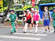 岘港市成立快速反应队  进一步加强旅游安全保障工作