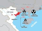 越南要求中方尽早同越方配合建立有关各核电项目的信息互换机制