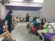 马来西亚警察突袭淫窝解救41名外籍妇女