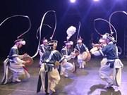 """题为""""越南与韩国旋律""""的文艺晚会在越南平定省举行"""