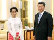 中国与缅甸加强双边合作关系