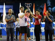 2016年越南网球公开赛:澳大利亚选手Jordan Thompson夺魁