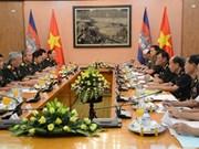 第二次越柬国防政策对话在河内举行