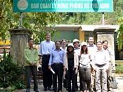 美国帮助越南中部居民保护森林和生物多样性