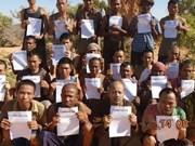 索马里海盗释放被囚禁将近5年的越南人质