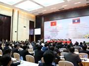 越共中央民运部同老挝建国阵线加强合作