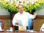 阮春福总理:努力抑制好通胀推动经济增长