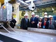 海防市最大外资项目正式竣工
