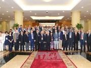越共中央总书记阮富仲会见出席第十八次共产党和工人党国际会议的各代表团团长