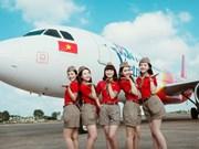 越捷航空公司:开通河内至顺化和河内至台北两条新航线