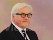 德联邦外交部长施泰因迈尔高度评价越德关系