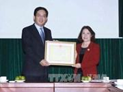 中国红十字会向越南中部洪水灾民捐款