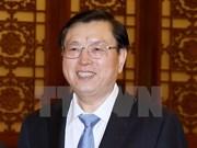 中国全国人大常委会委员长张德江对越南进行正式友好访问