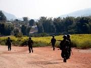 缅甸若开邦军队击毙25名武装分子