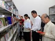 旅老越南人总会总部驻地图书馆正式开馆