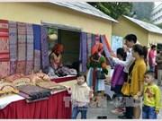 蒙族文化空间亮相河内步行街区