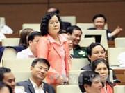 越南第十届国会第二次会议:选民高度评价质询会的内容