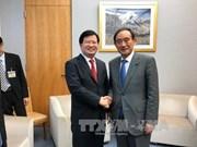 郑廷勇副总理会见日本内阁官房长官菅义伟