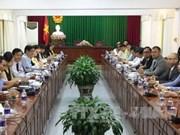 越南西南部地区事务指导委员会领导会见美国里弗赛德市市长