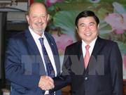 胡志明市与美国俄勒冈州加强经贸合作