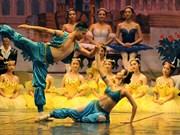《胡桃夹子》芭蕾舞剧给河内观众留下深刻印象(组图)