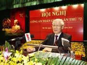 越共中央总书记阮富仲出席第72届全国公安会议(组图)