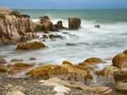 平顺省旅游:古石色彩石滩(组图)