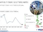 2017年前2个月越南工业生产指数小幅增长