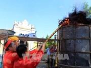 大炮古法铸造仪式在乂安省举行(组图)