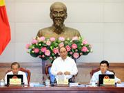 越南政府总理阮春福主持召开政府9月份例行会议