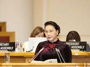 越南国会主席阮氏金银出席各国议会联盟第137届大会(组图)