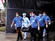 岘港市举行2017年APEC领导人会议周医疗应急演练活动(组图)
