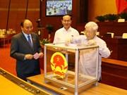 越南第十四届国会第四次会议:表决通过政府两名成员任命事宜(组图)