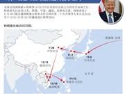 图表新闻:美国总统唐纳德·特朗普将于2017年 11月11日至12日对越南进行国事访问