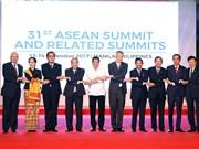政府总理阮春福出席第31届东盟峰会系列活动 (组图)