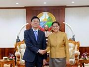 越老建交55周年:老挝国会主席高度评价越老司法合作取得的成果
