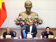 阮春福总理主持召开政府11月份例行会议(组图)