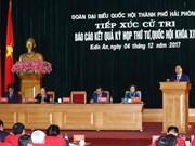 越南政府总理阮春福接待海防市建安郡选民(组图)
