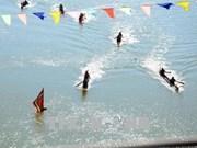 2018年昆嵩省传统独木舟竞赛吸引84名运动员参赛 (组图)