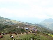 北件省赫蒙族的木拉节(组图)
