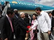 越共中央总书记阮富仲对古巴进行国事访问(组图)