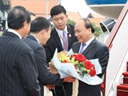 越南政府总理阮春福启程出席暹粒省召开的第三届湄公河委员会峰会(组图)