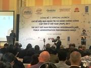 2017年越南省级公共管理和行政效益指数对外公布