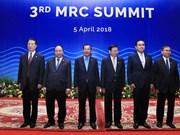 越南政府总理阮春福出席湄公河委员会第三届峰会全体会议(组图)