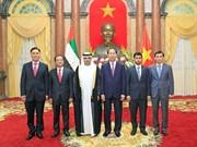 越南国家主席陈大光接受三国新任驻越大使递交国书(组图)