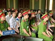 胡志明市针对人民政府的恐怖案件二审公开开庭